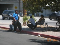 Day Laborers Burbank 1